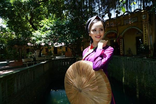 Top 10 Hoa hậu Việt Nam 2016 Tố Như tham gia chương trình Hành trình văn hóa Việt, về với miền đất  Bắc Ninh.