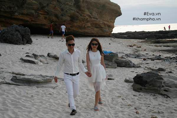 Cặp đôi vừa có chuyến du lịch Đà Nẵng, Hội An, Lý Sơn kết hợp với chụp ảnh cưới.