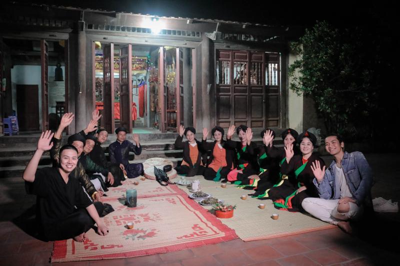 Dân ca quan họ Bắc Ninh với những giai điệu sâu lắng trữ tình, ca từ dạt dào đã trở thành biểu tượng của vùng đất Kinh Bắc và trở thành món ăn tinh thần không thể thiếu của người dân Việt Nam. Ảnh: Tuấn Anh