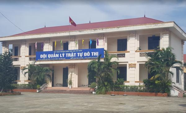 Đội quản lý trật tự đô thị Từ Sơn (Bắc Ninh).