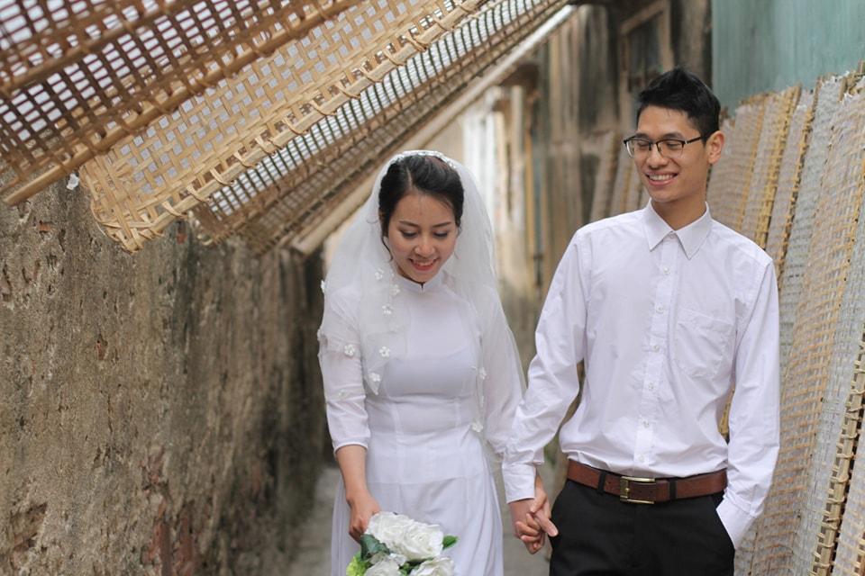 Chủ nhân của clip này là chú rể Đức Tuấn và cô dâu Quỳnh.