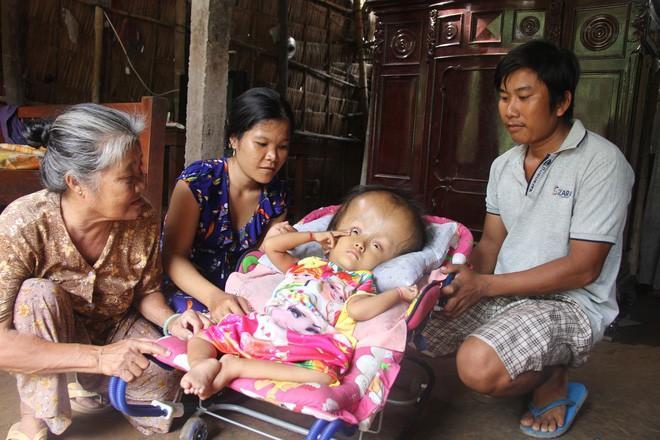 Cảnh sum vầy, hạnh phúc của gia đình chị Ngon trong những ngày cận Tết nguyên đán.