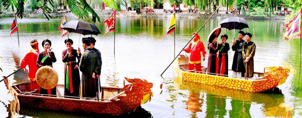 Hội Lim được tổ chức vào ngày 12 -13 tháng Giêng. (Ảnh: kenh14.vn)