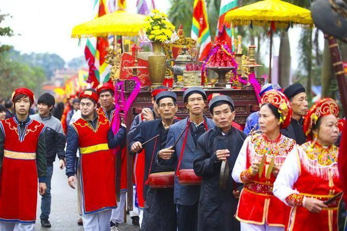 Hội Lim náo nhiệt tại Bắc Ninh. (Ảnh: mytour.vn)