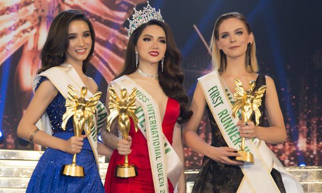 Top 3 Hoa hậu Chuyển giới Quốc tế 2018