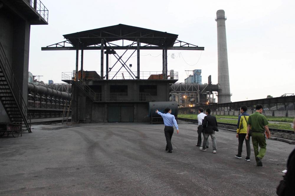 Nhà máy luyện Thép của Công ty Cổ phần Thép Hòa Phát Hải Dương.