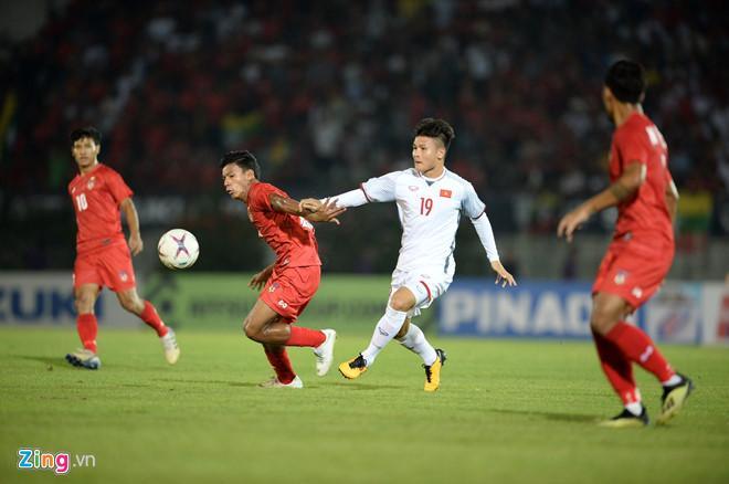 Đội tuyển Việt Nam chủ yếu ghi bàn ở những tình huống chớp thời cơ phản công.