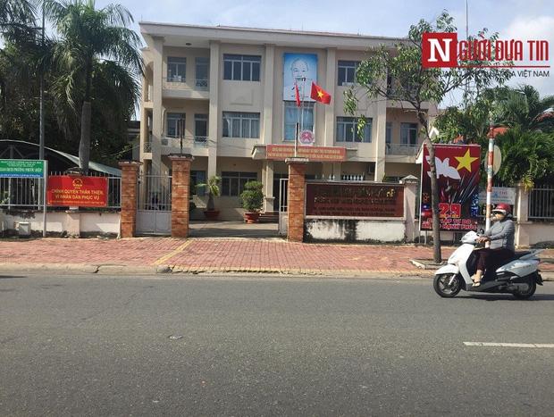 Trụ sở UBND phường Phước Hiệp nơi xảy ra vụ việc.