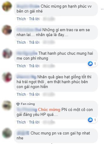 Nhiều khán giả yêu thương và thường gửi lời chúc tốt đẹp đến hai mẹ con Phi Nhung (Ảnh chụp màn hình)