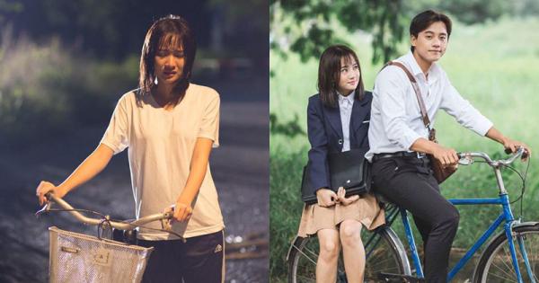 Nữ diễn viên chính xinh đẹp trong MV Em gái mưa của nữ ca sĩ Hương Tràm. (Nguồn: Fb Nguyễn Thanh Vy)