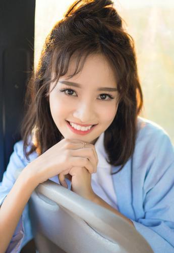 Gương mặt xinh đẹp, khả ái của Thanh Vy. (Nguồn: NVCC)