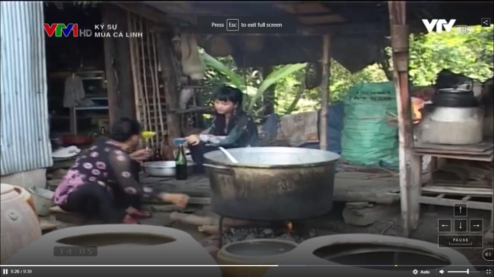 Nấu nước mắm từ cá linh