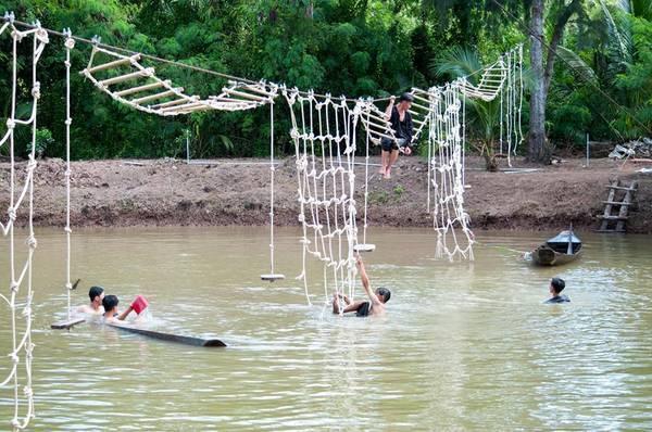 Ảnh: FB Nông trại du lịch – Sân chim Vàm Hồ