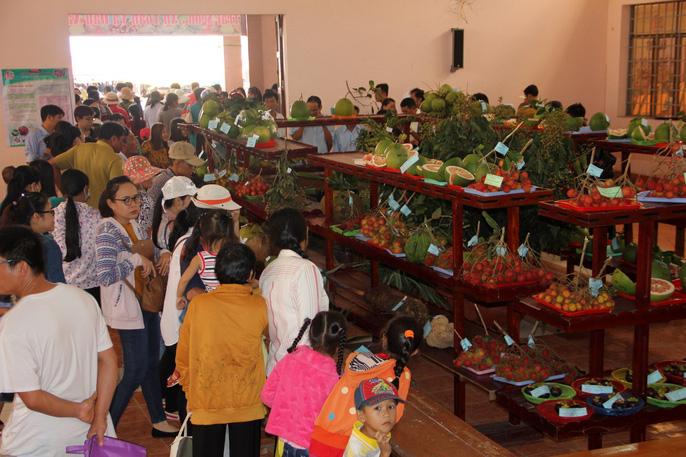 Đông đảo khách tham quan đến với Lễ hội Cây - trái ngon, an toàn tỉnh Bến Tre năm 2018