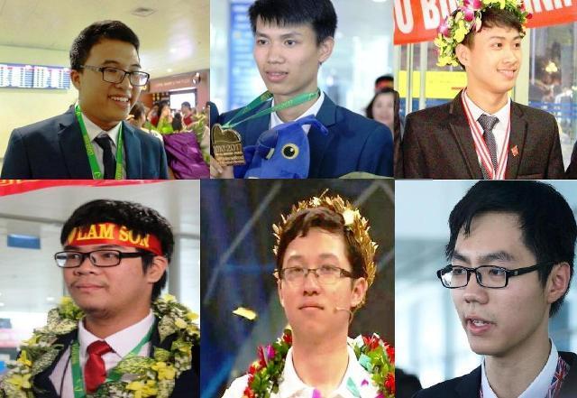 Một trong những người con miền Trung được vinh danh ở các cuộc thi tri thức.