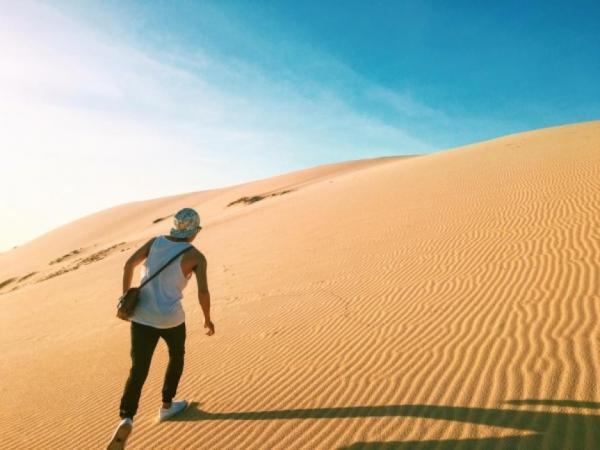 Cồn cát Quang Phú ở Quảng Bình. (Nguồn: tadiha.com)