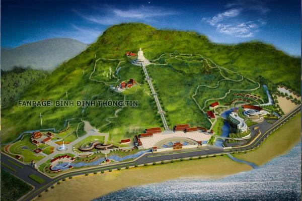 Image result for ảnh Quần thể công trình Tâm linh phật pháp Linh Phong: