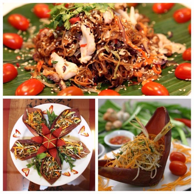 Món nộm từ hoa chuối là món ăn dân dã được nhiều người ưa thích.