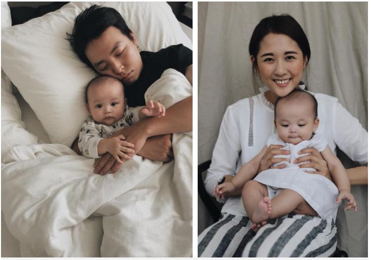 Mẹ Julia chia sẻ từ khi có em bé JJ, cả nhà không cần đồng hồ báo thức vì đã có em JJ gọi mọi người dậy rất sớm!