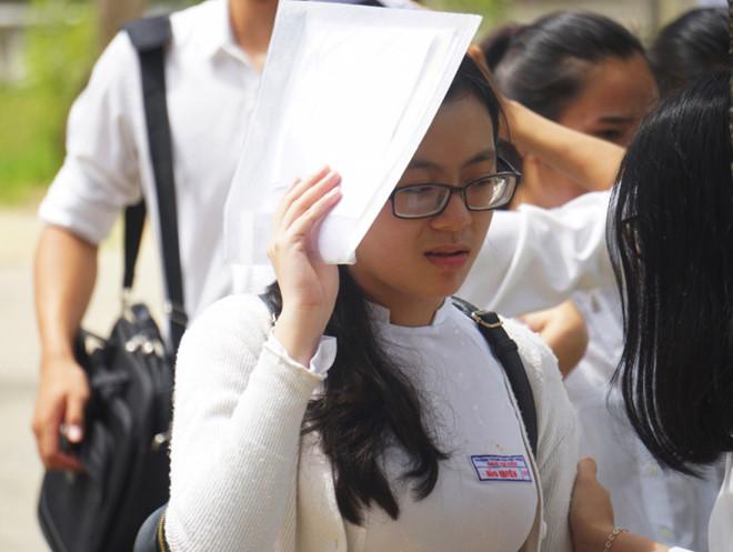 Ở kỳ thi THPT năm 2018, Đà Nẵng có 7 thí sinh đạt điểm 10. Ảnh: Giáp Hồ.