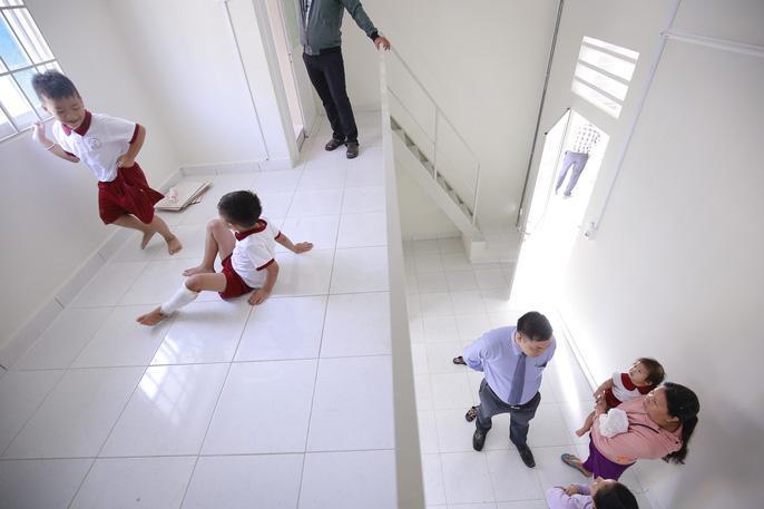 Một trong hai căn hộ Becamex IDC tặng cho các bé
