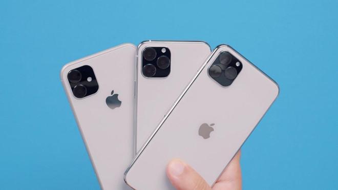 Nguyên mẫu 3 chiếc iPhone 2019. Ảnh: Macrumors.