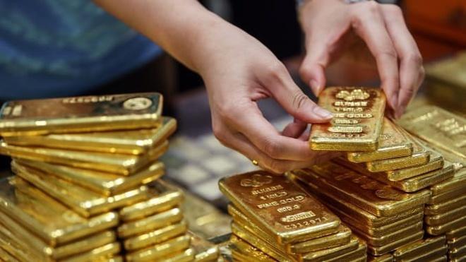 Giá vàng có thể tăng tới 56 triệu đồng/lượng trong thời gian tới (Ảnh minh họa: Twitter)