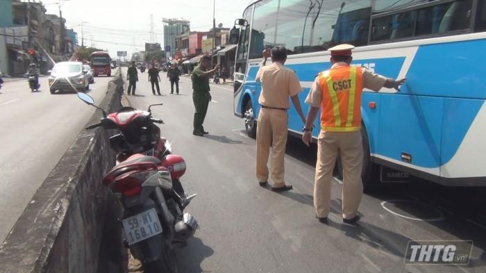 Một trong những vụ tai nạn giao thông trong dịp tết Canh Tý 2020.
