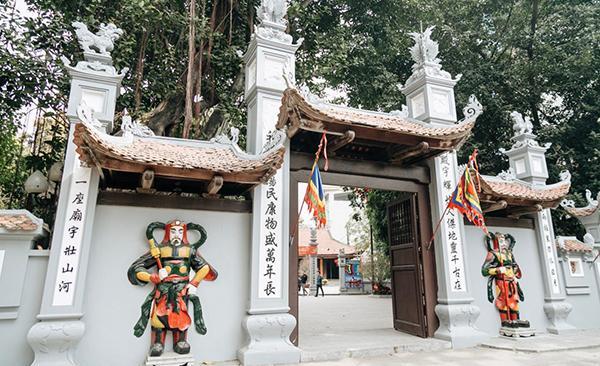 Chùa Hà - một trong những ngôi chùa cầu duyên linh thiêng ở Hà Nội.