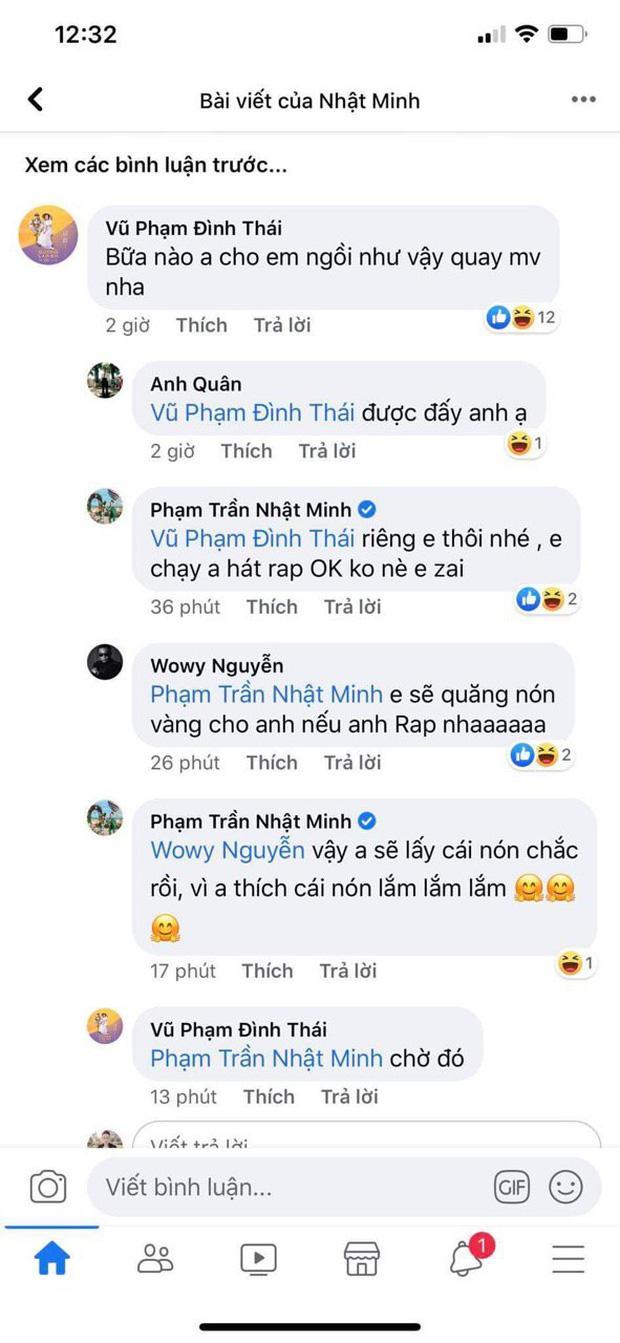 Wowy hứa sẽ quăng nón vàng cho Minh Nhựa nếu vị đại gia này rap
