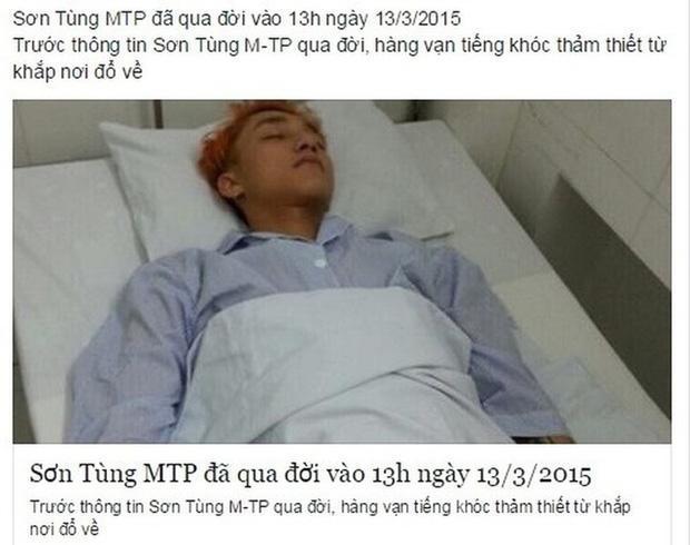 Sơn Tùng M-TP là nạn nhân của tin đồn ác ý trên MXH