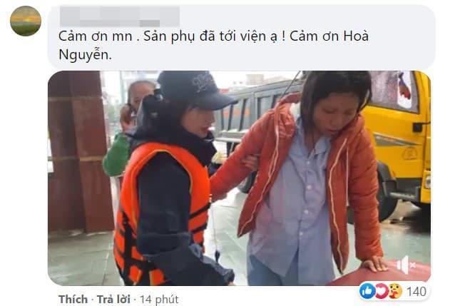 May mắn, Hòa Minzy đã đưa thai phụ đến bệnh viện an toàn.