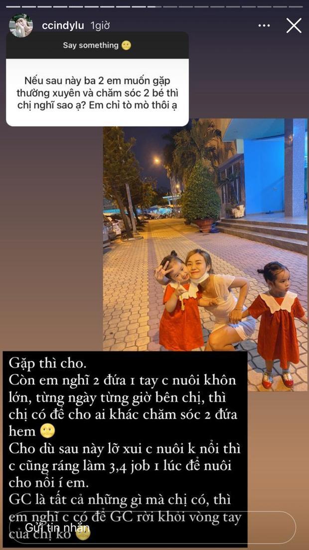 Bảo Ngọc lên tiếng khi được dân m.ạ.n.g hỏi về chuyện có cho Hoài Lâm gặp thường xuyên và chăm sóc 2 con