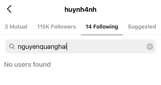 Tuy nhiên trên Instagram cô nàng vẫn chưa follow lại bạn trai cũ