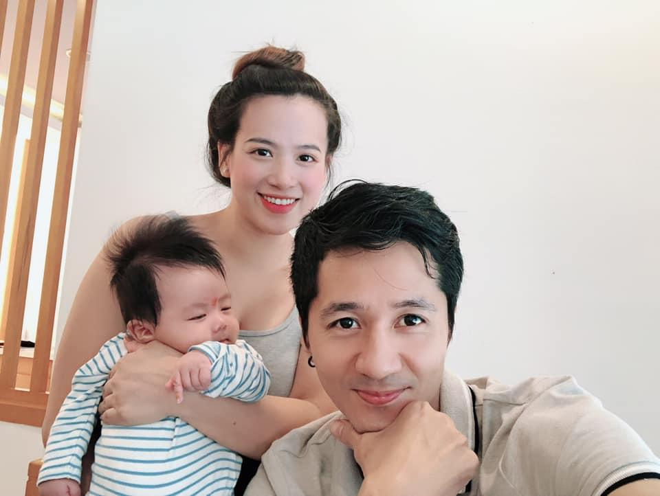 Gia đình nhỏ hiện tại của Anh Tuấn.
