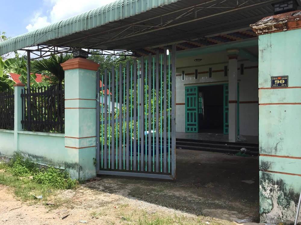 Căn nhà nơi phát hiện vụ á.n m.ạng chấn động