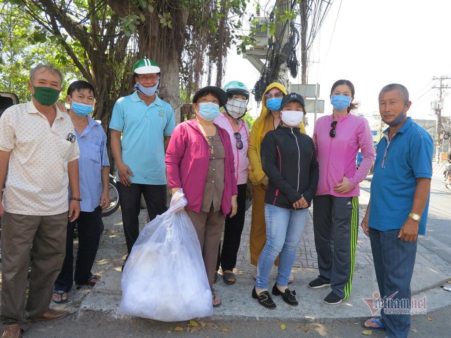 Nhóm từ thiện của ông Minh Trung.