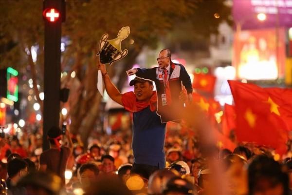 U23 Việt Nam vẫn là nhà vô địch của người hâm mộ. Ảnh: Lao Động