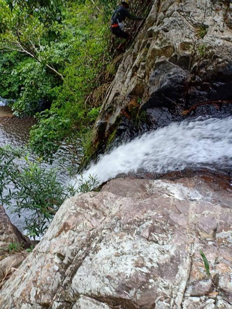 Một đoạn của thác Lao Phào