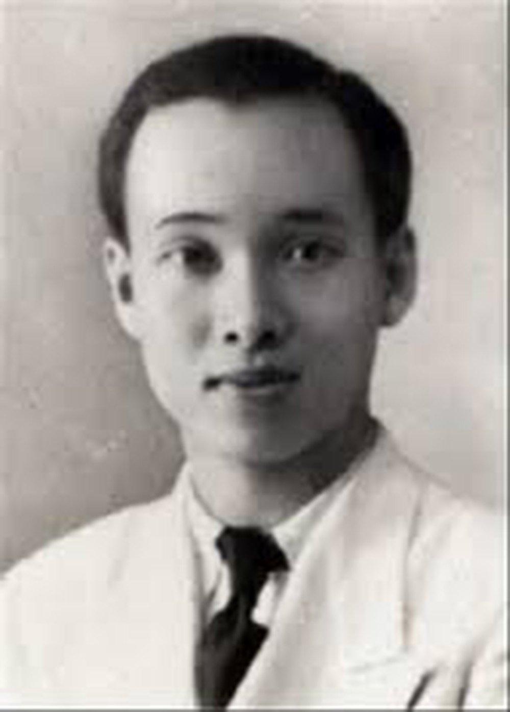 Bác sĩ Phạm Ngọc Thạch thời trẻ.