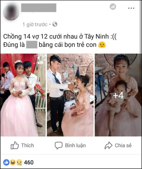 Ảnh chụp màn hình một trong nhiều bài đăng trên mạng xã hội.
