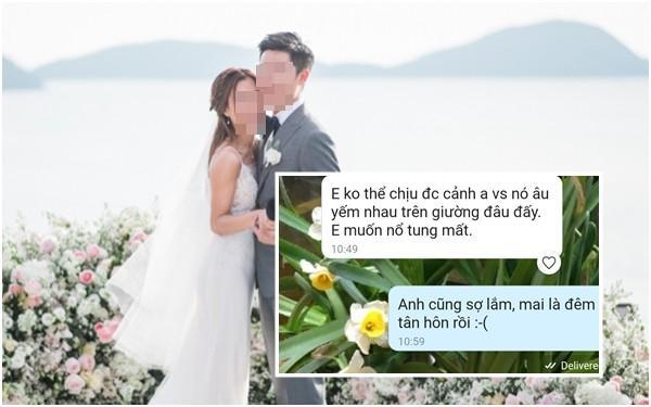 Cô dâu chua chát nhận tin nhắn của chồng và người yêu cũ trước ngày cưới