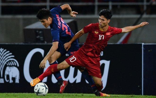 ĐT Việt Nam được xếp cửa trên khi đấu Thái Lan.