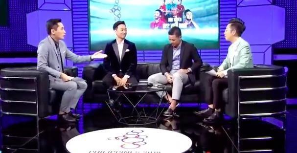 Các khách mời tại chương trình bình luận đã mổ xẻ khá nhiều về bàn thua của U22 Việt Nam. (Ảnh: Chụp màn hình).