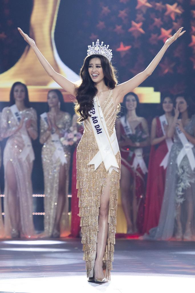 Nguyễn Trần Khánh Vân đăng quang ngôi vị Hoa hậu Hoàn vũ Việt Nam 2019