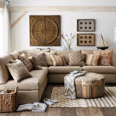 Đừng lạm dụng một yếu tố hay màu sắc nào trong ngôi nhà của bạn. (Ảnh minh họa: Internet)