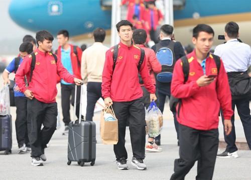 Vì thời gian gấp rút, các tuyển thủ Việt Nam chưa được chia thưởng Tết.