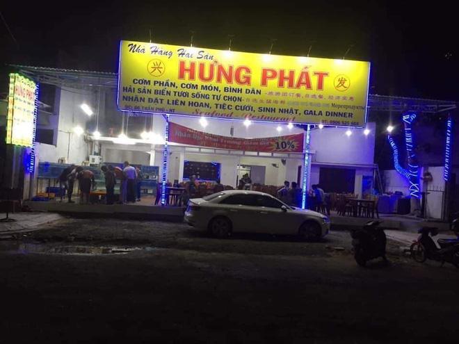 Nhà hàng Hưng Phát nơi xảy ra sự việc.