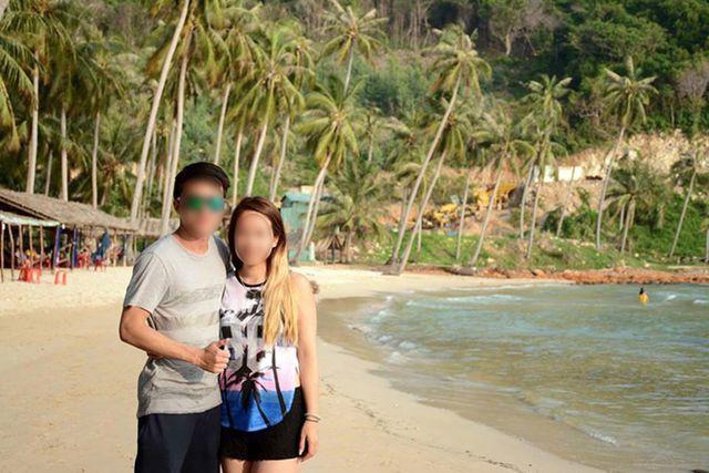 Anh Võ Duy Nghiêm và bạn gái bị tấn công khi về quê ăn Tết. Ảnh: Công an nhân dân
