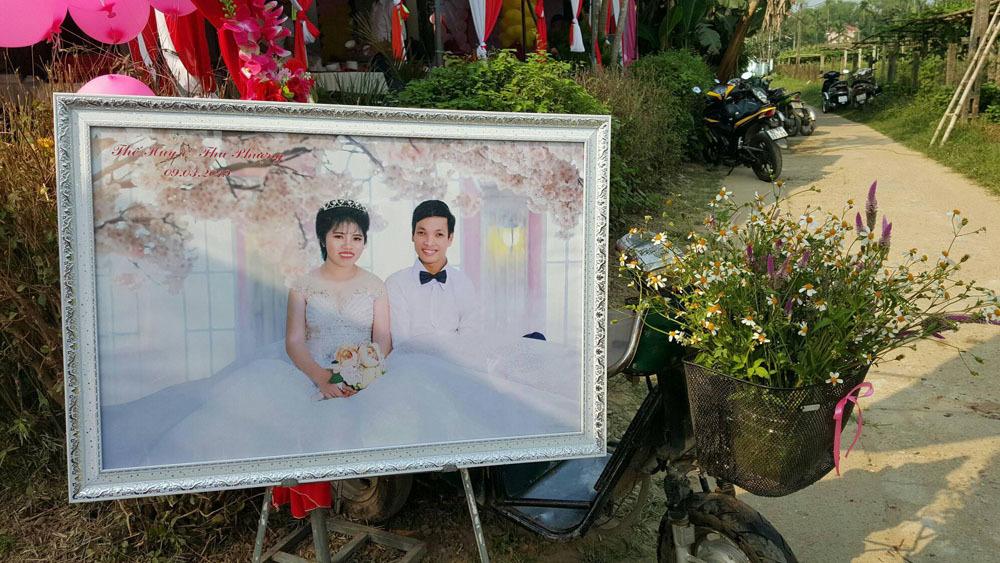Ảnh cưới của anh Quy, chị Phượng